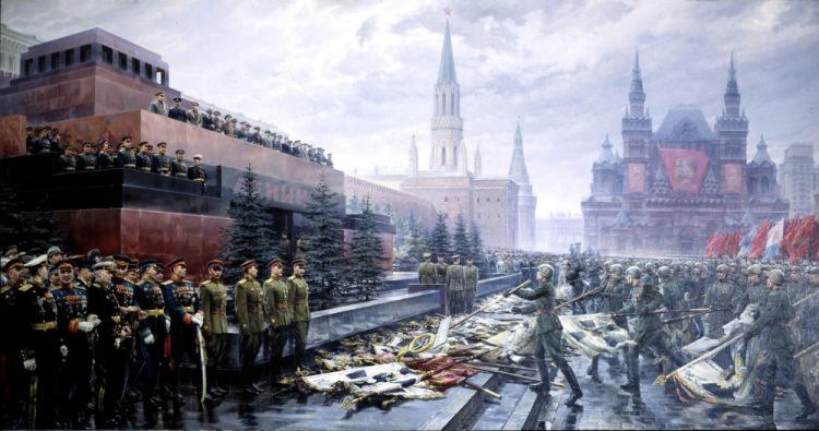 Михаил Хмелько. Триумф победившей Родины. 1947