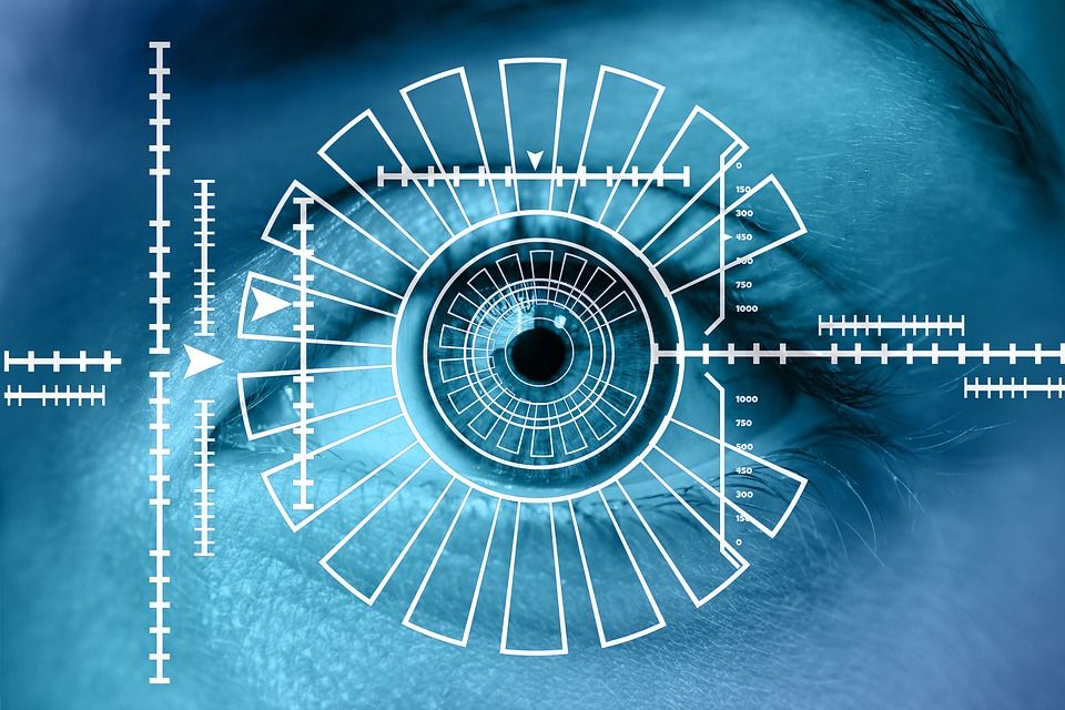 Глаз, айрис, биометрия