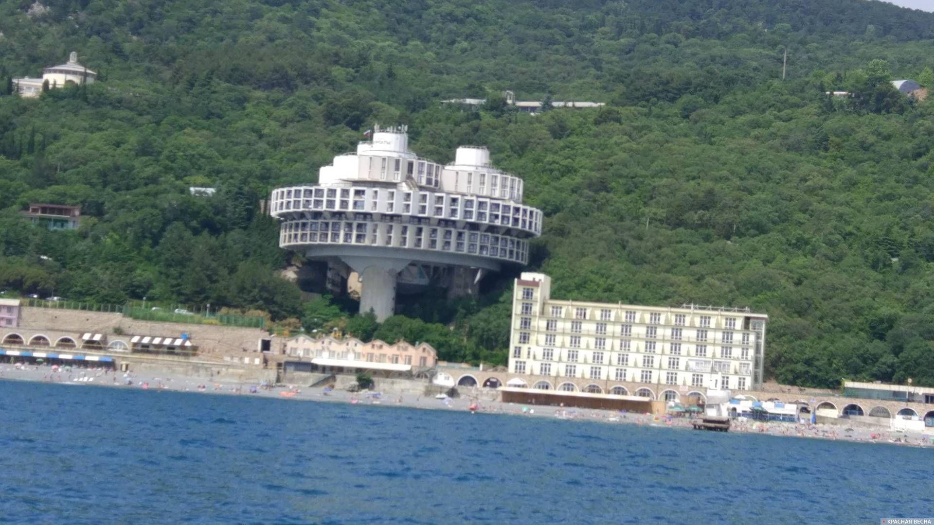 Гостиница Летающая тарелка. Крым