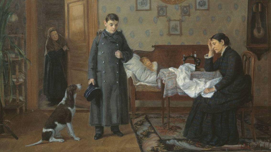 Дмитрий Егорович Жуков. Провалился. 1885