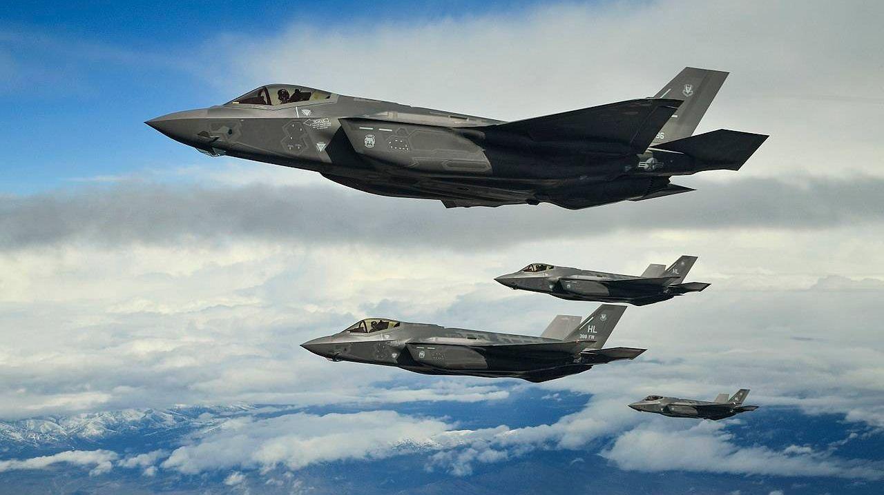 Истребители F-35А ВВС США