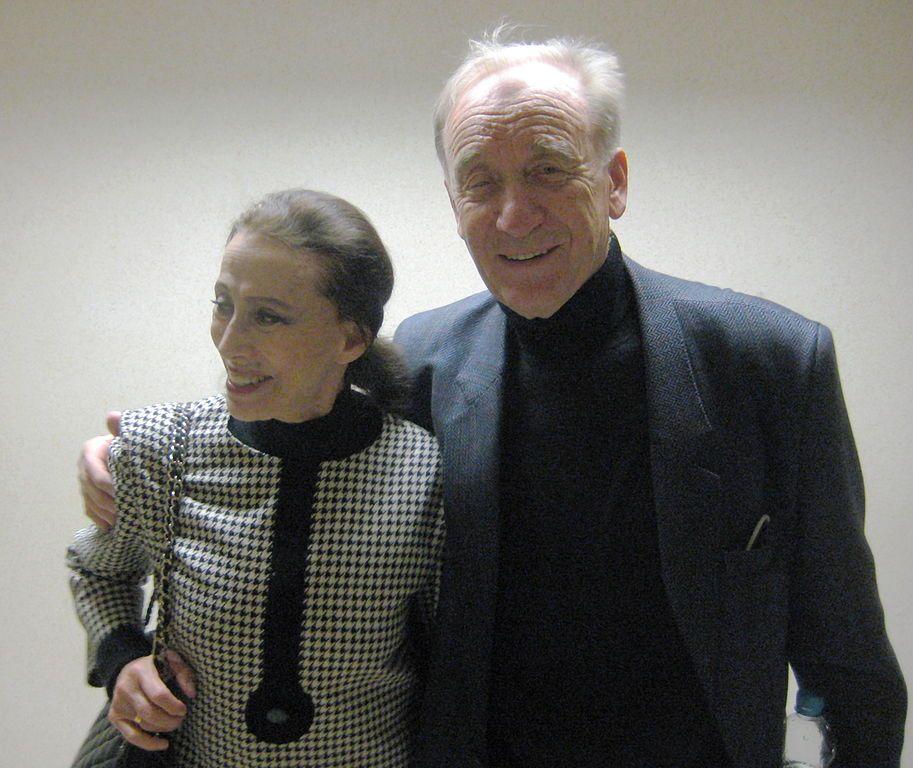Композитор Родион Щедрин с женой