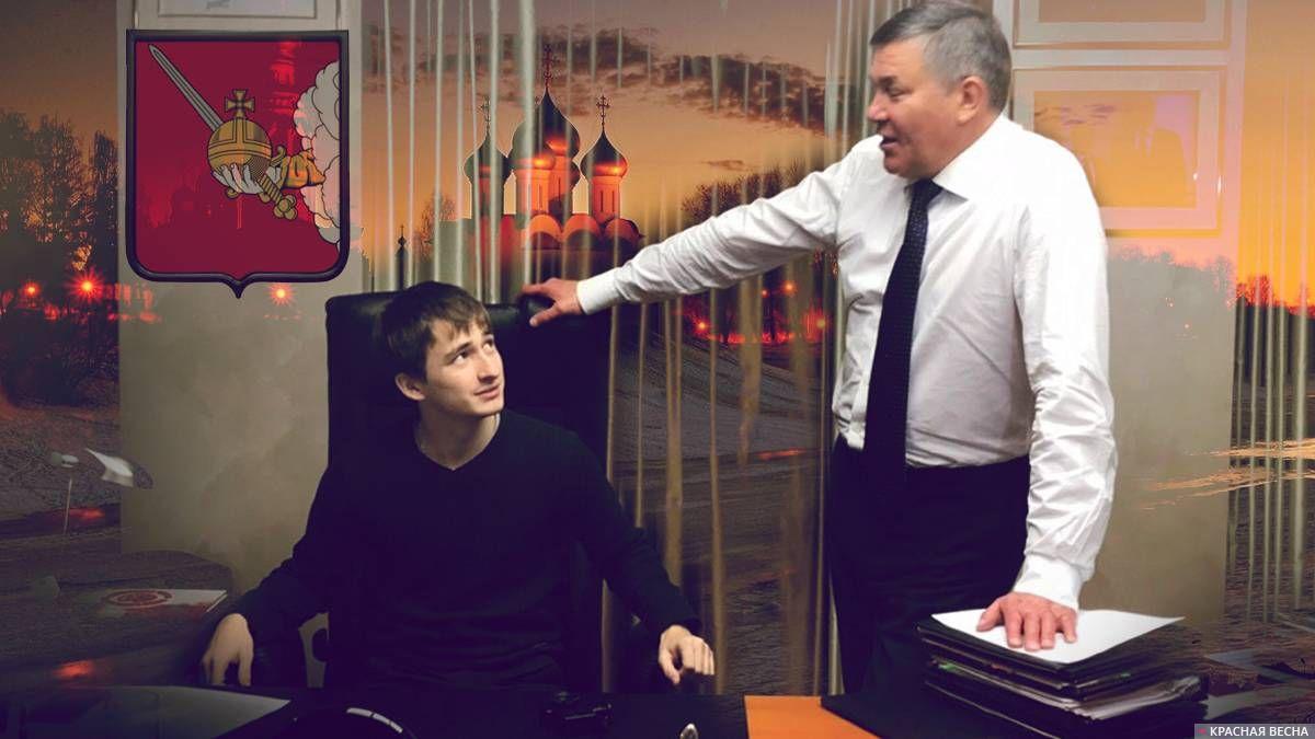 Студент Константин и губернатор Олег Кувшинников