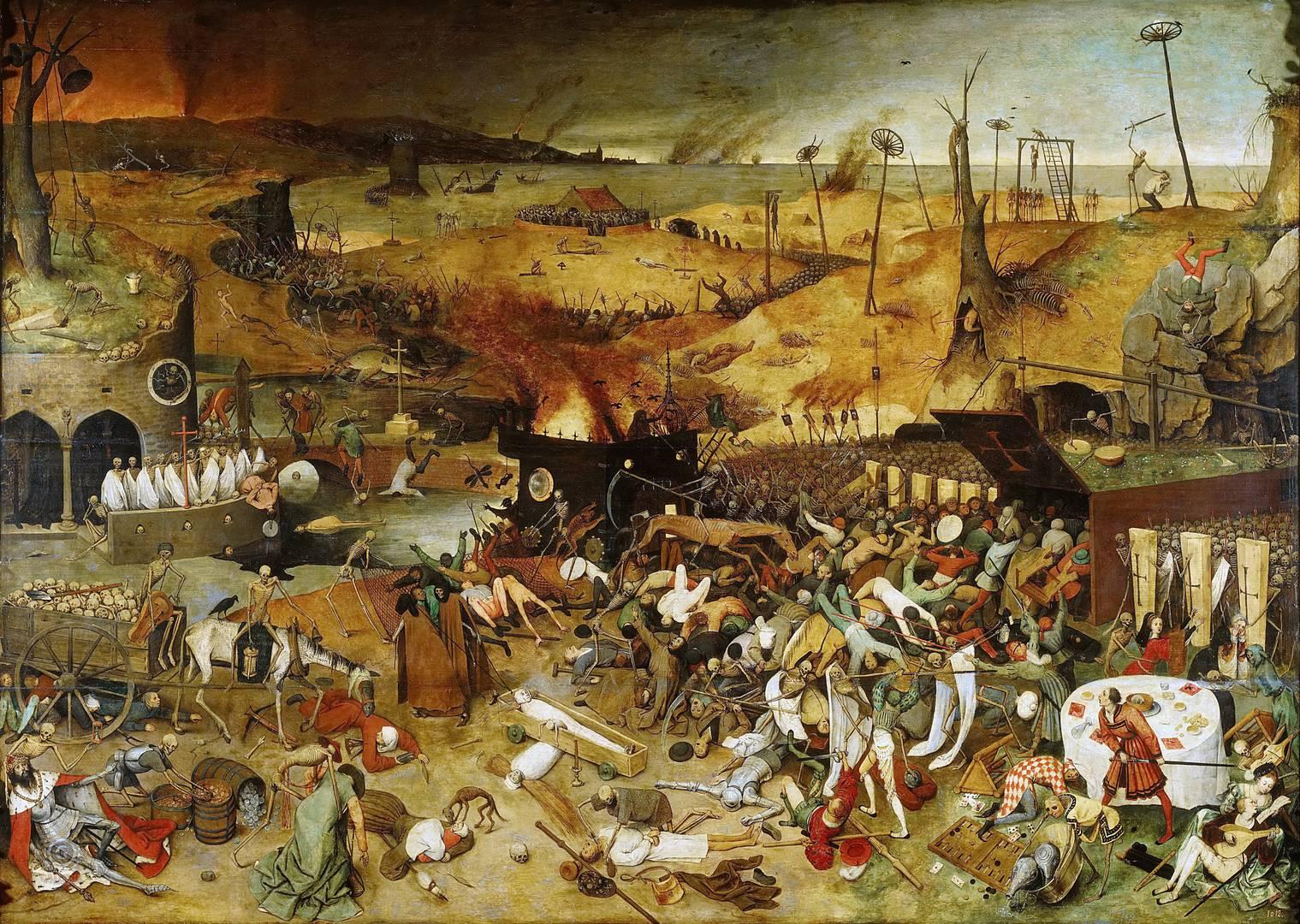 Питер Брейгель Старший. Триумф смерти. 1562
