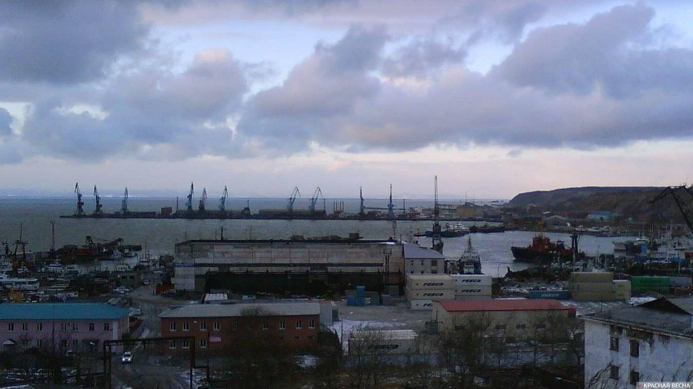 Порт. Южный Сахалин