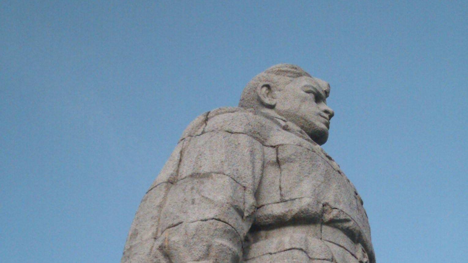 Памятник Алёше - освободителю Болгарии от нацизма - в Пловдиве