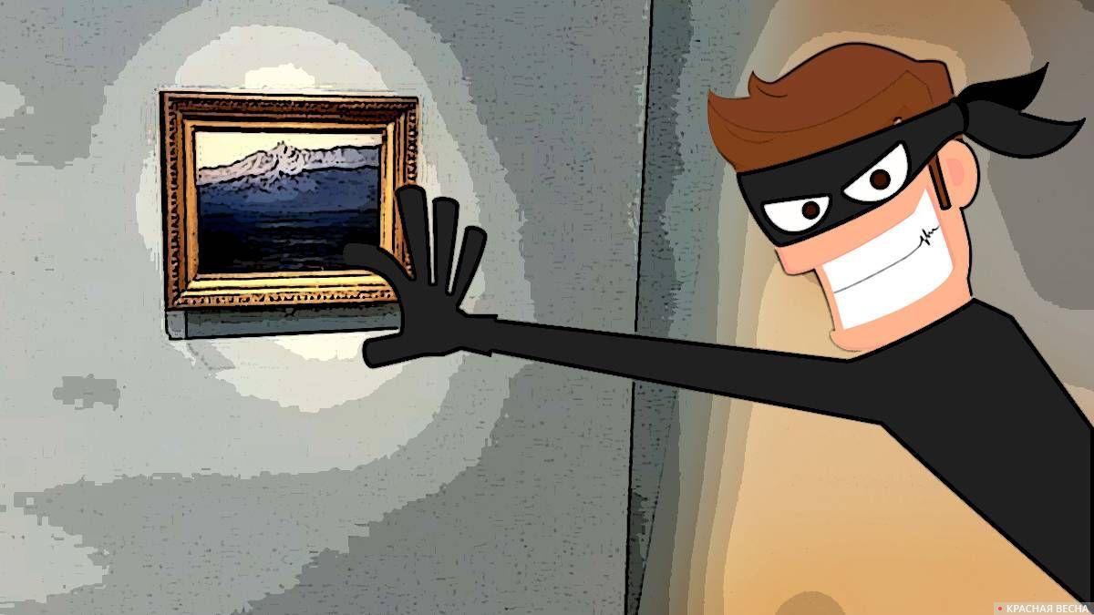 Кража картины Куинджи