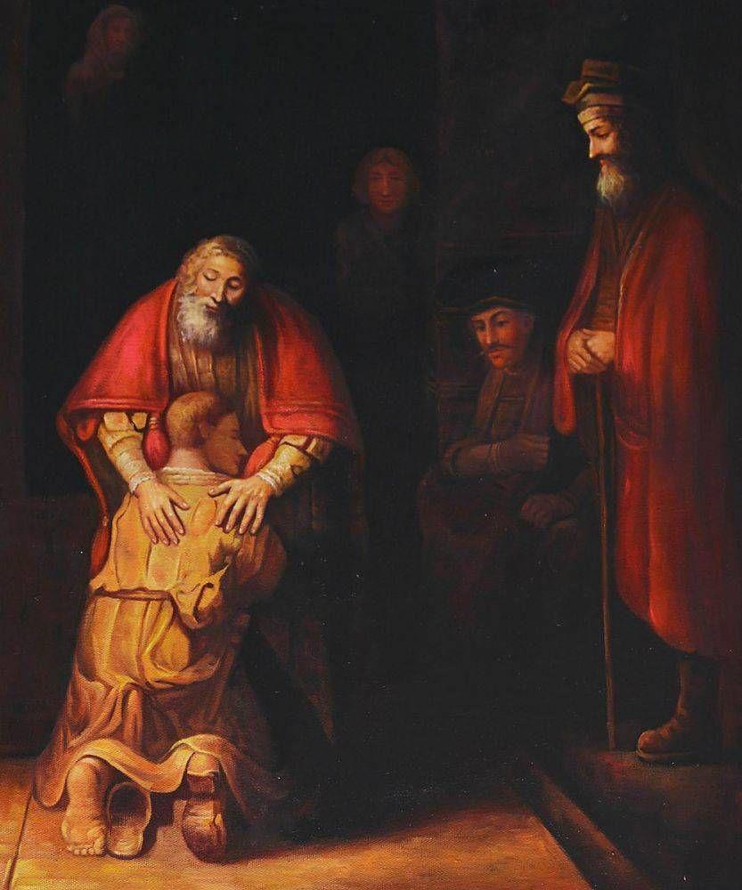 Рембрандт Харменс ван Рейн. Возвращение блудного сына. 1666–1669