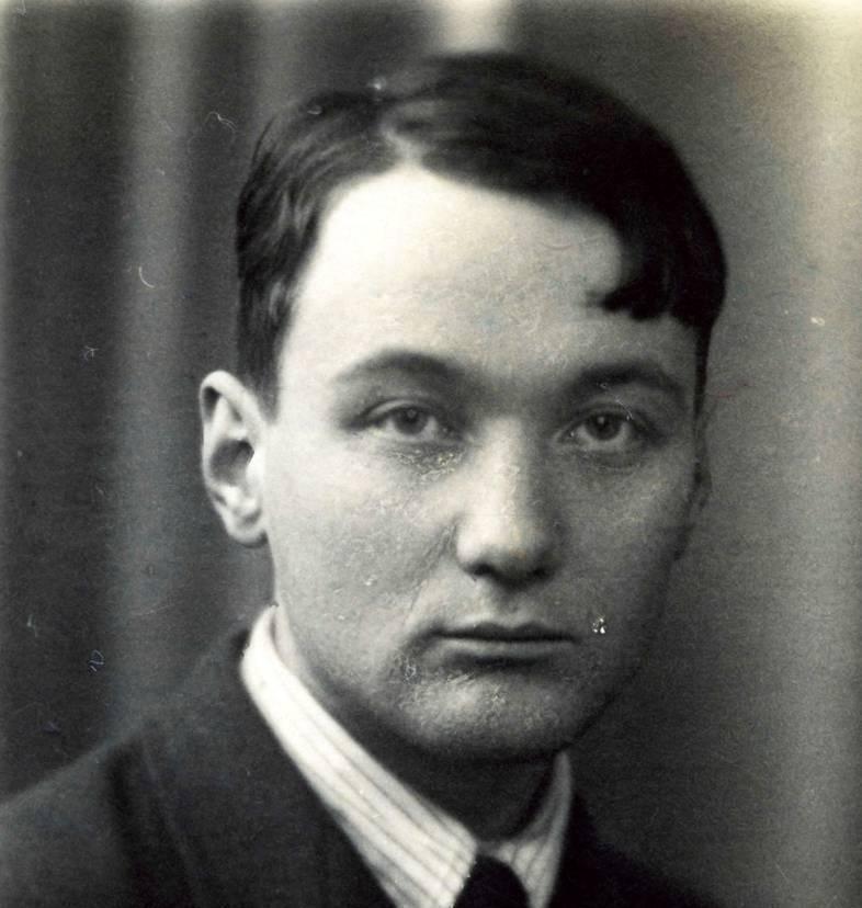 Лев Гумилёв в 1934 году