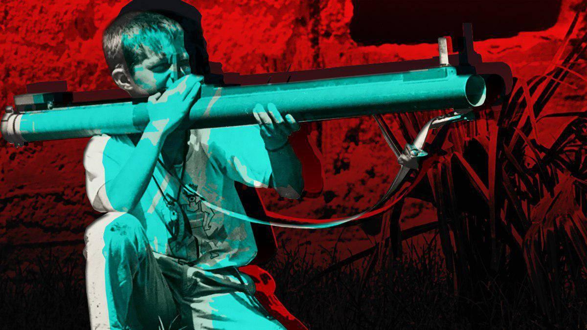 Мальчик с гранатометом. Гражданская война в Югославии