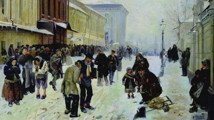 Владимир Маковский. Ночлежники (Ночлежный дом в Москве). 1889