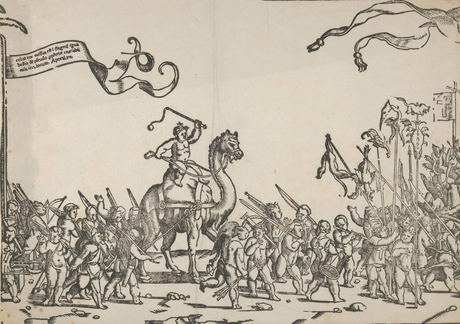 Монограммист LIW. Крестовый поход детей. Ок. 1550–1580 гг.