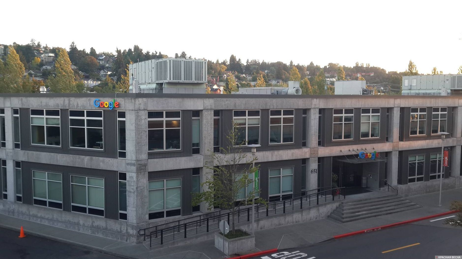 Офис Гугл. Сиэтл