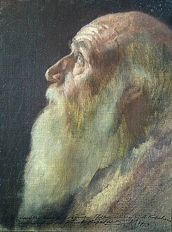 С. А. Коровин. Портрет Н. Ф. Федорова. 1902