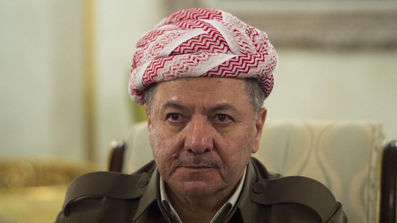 Президент Иракского Курдистана Масуд Барзани