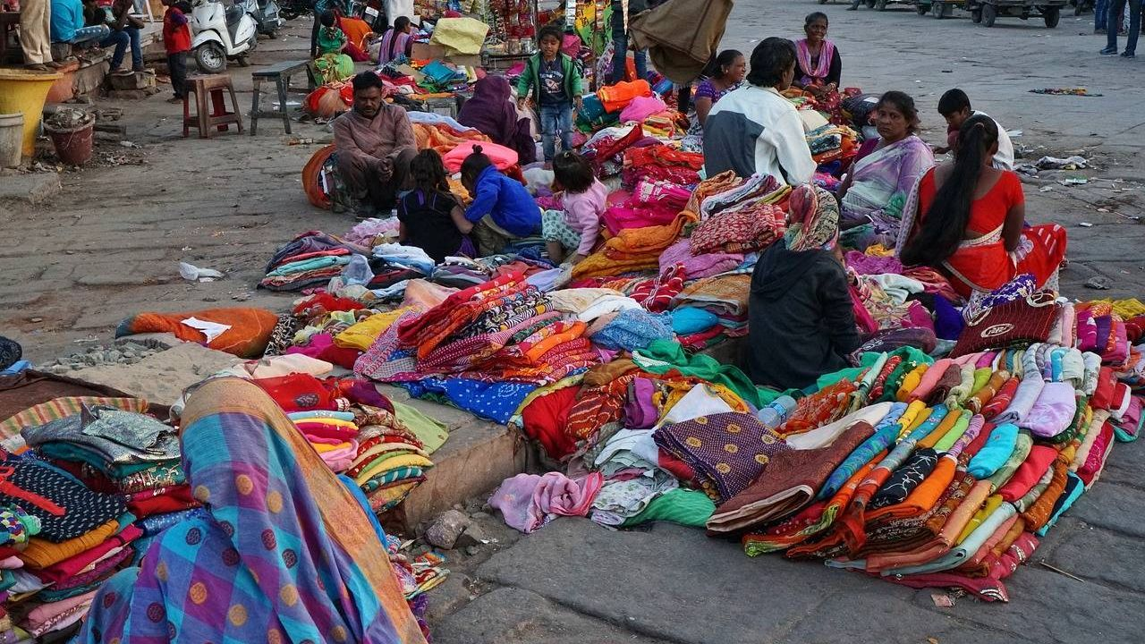Товары на индийском рынке