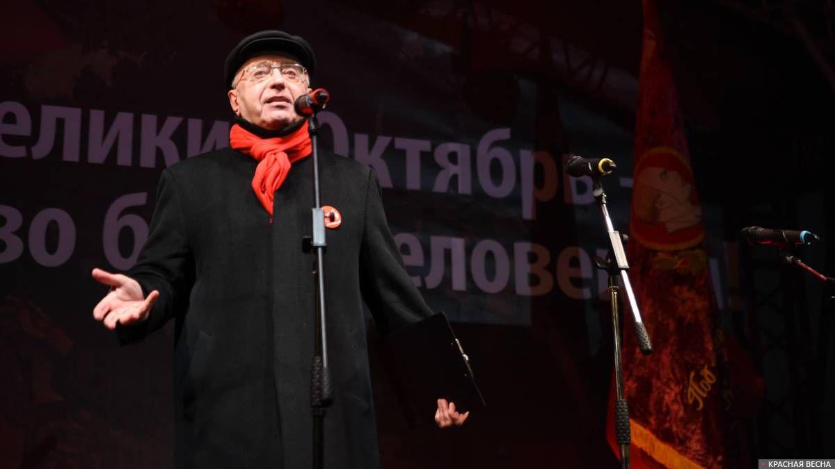 Сергей Кургинян на митинг движения «Суть времени» 7 ноября 2019 года