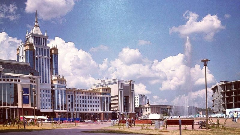 Площадь тысячелетия, Саранск, Мордовия