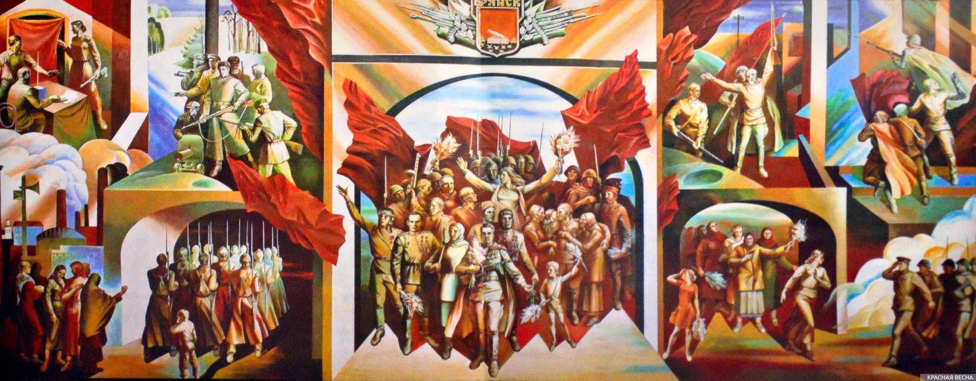 Монументальная роспись «Победа»