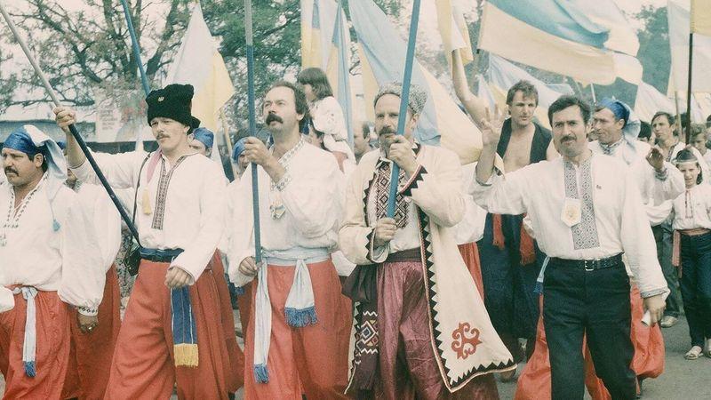 «Запорожские казаки», 1990 год