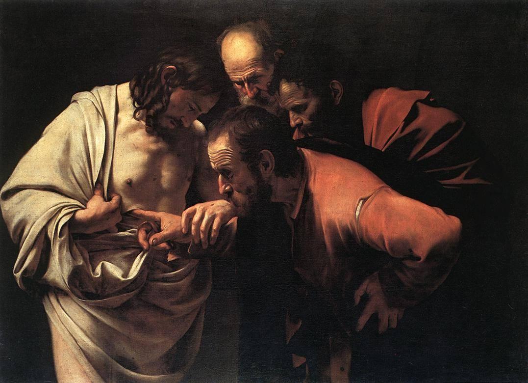 Караваджо. Неверие апостола Фомы. 1600–1602