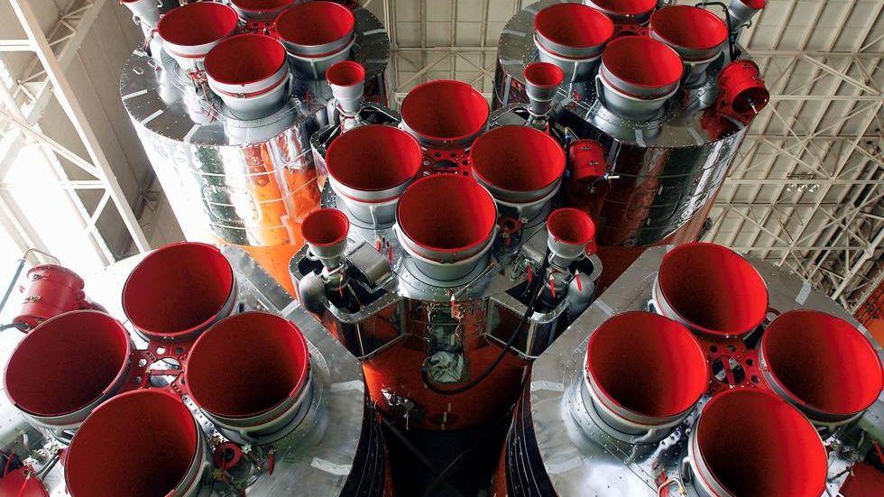 Ракетные двигатели РД-107А/РД-108А на нафтиле