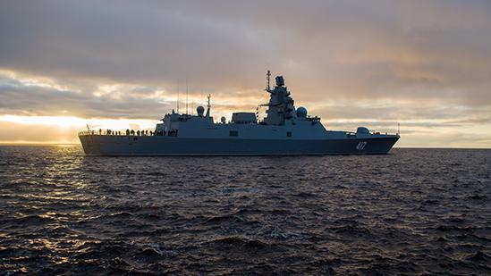 Головной корабль проекта 22350 «Адмирал Флота Советского Союза С.Г. Горшков»