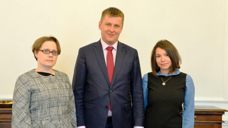 Жанна Немцова и Томаш Петржичек