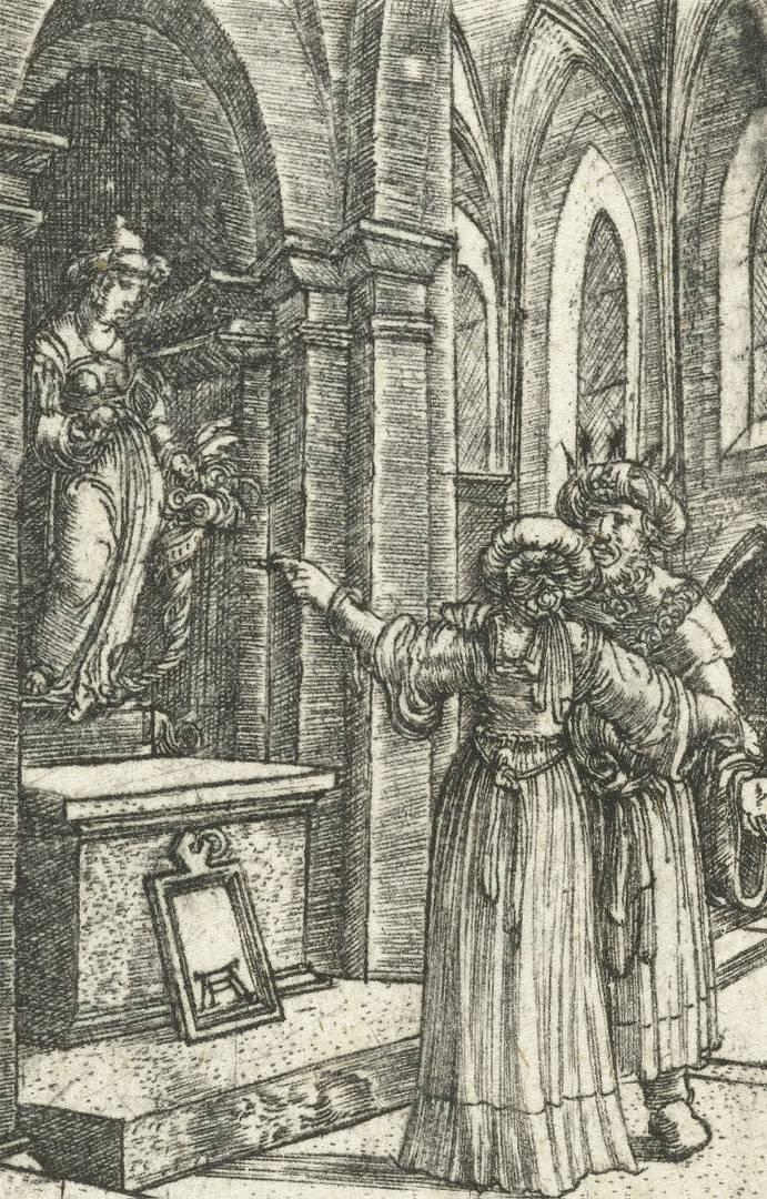 Альбрехт Альтдорфер. Идолопоклонство Соломона. Ок. 1506–1538