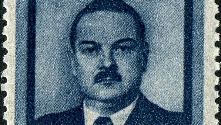 А.А. Жданов. Почтовая марка СССР, 1948 год (фрагмент)
