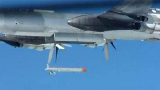 Запуск крылатых ракет