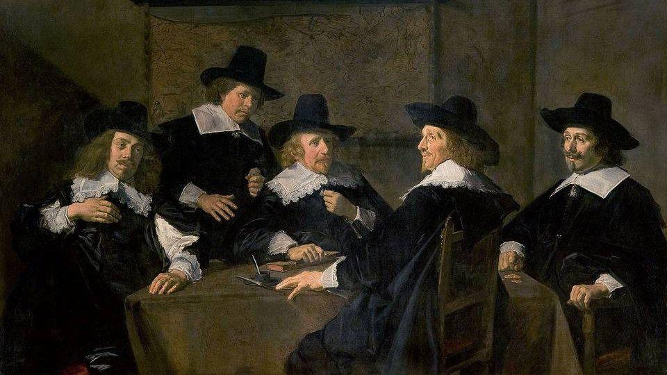 Франс Халс. Регенты госпиталя Святой Елизаветы в Харлеме. 1641.