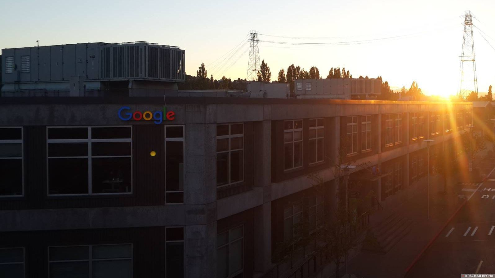 Офис Гугл. Сиэтл.