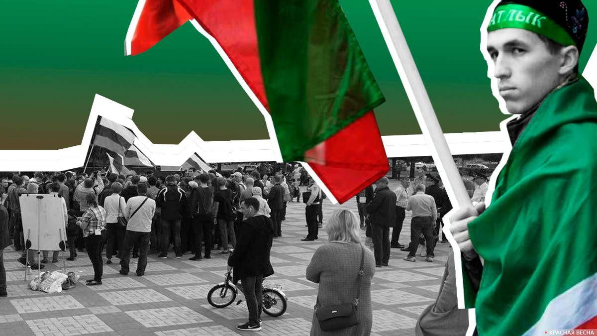 Протесты против пенсионной реформы в Татарии