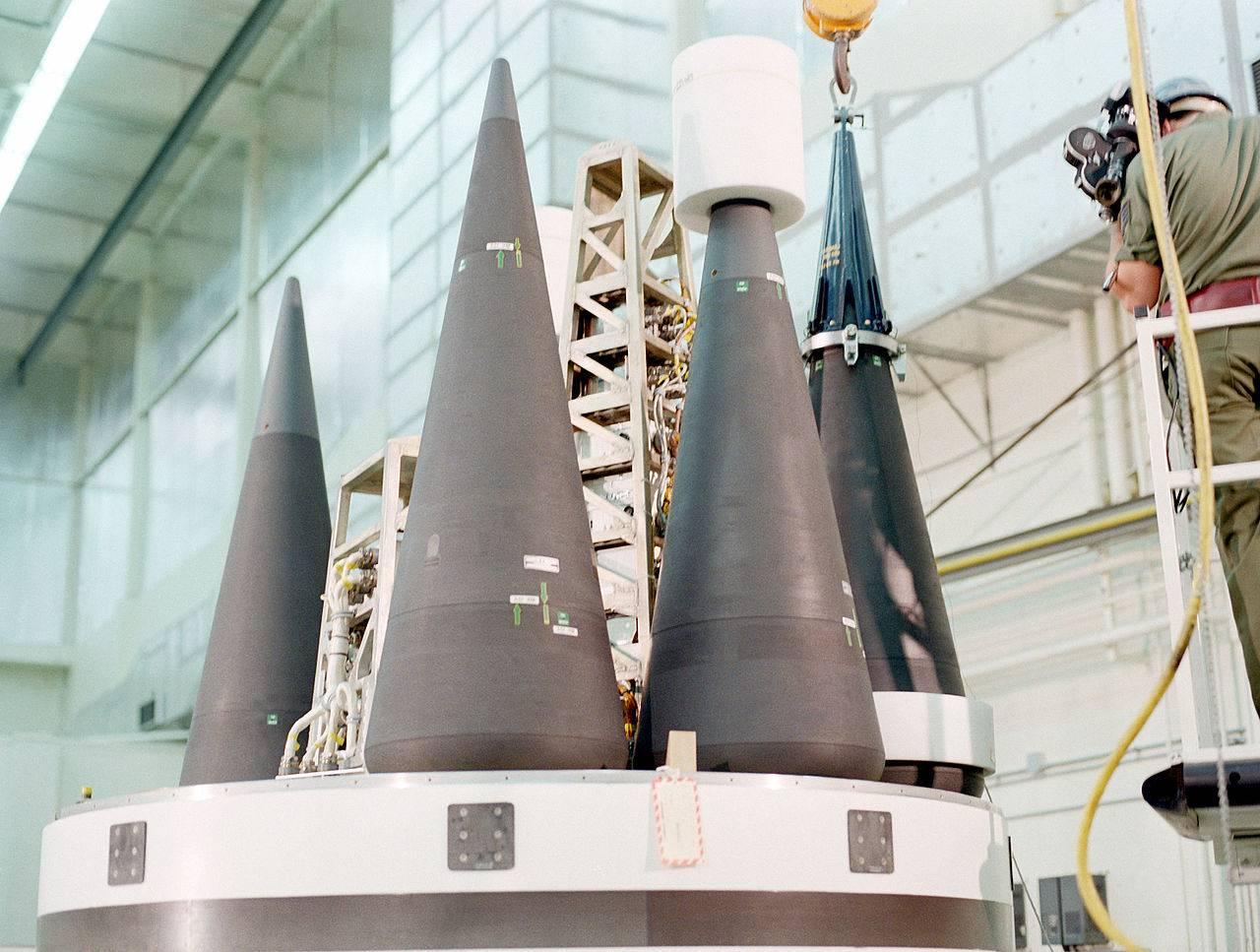 Боеголовка, боевая часть ракеты SRAM II