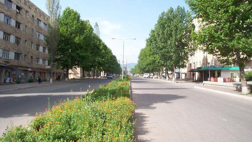 Степанакерт, главная улица города