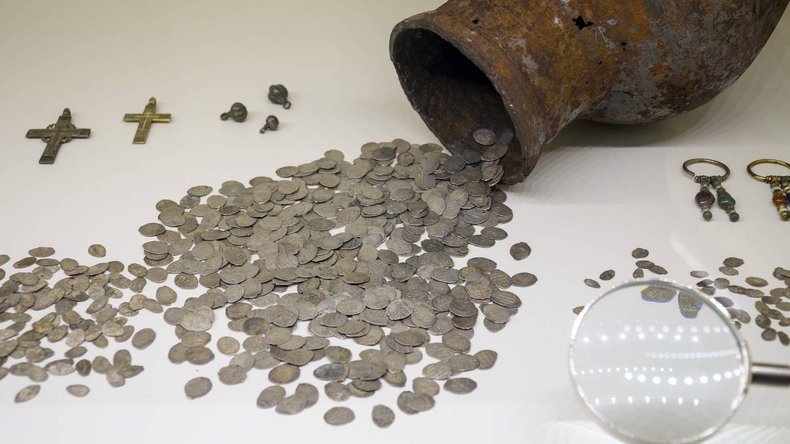 Клад, серебро