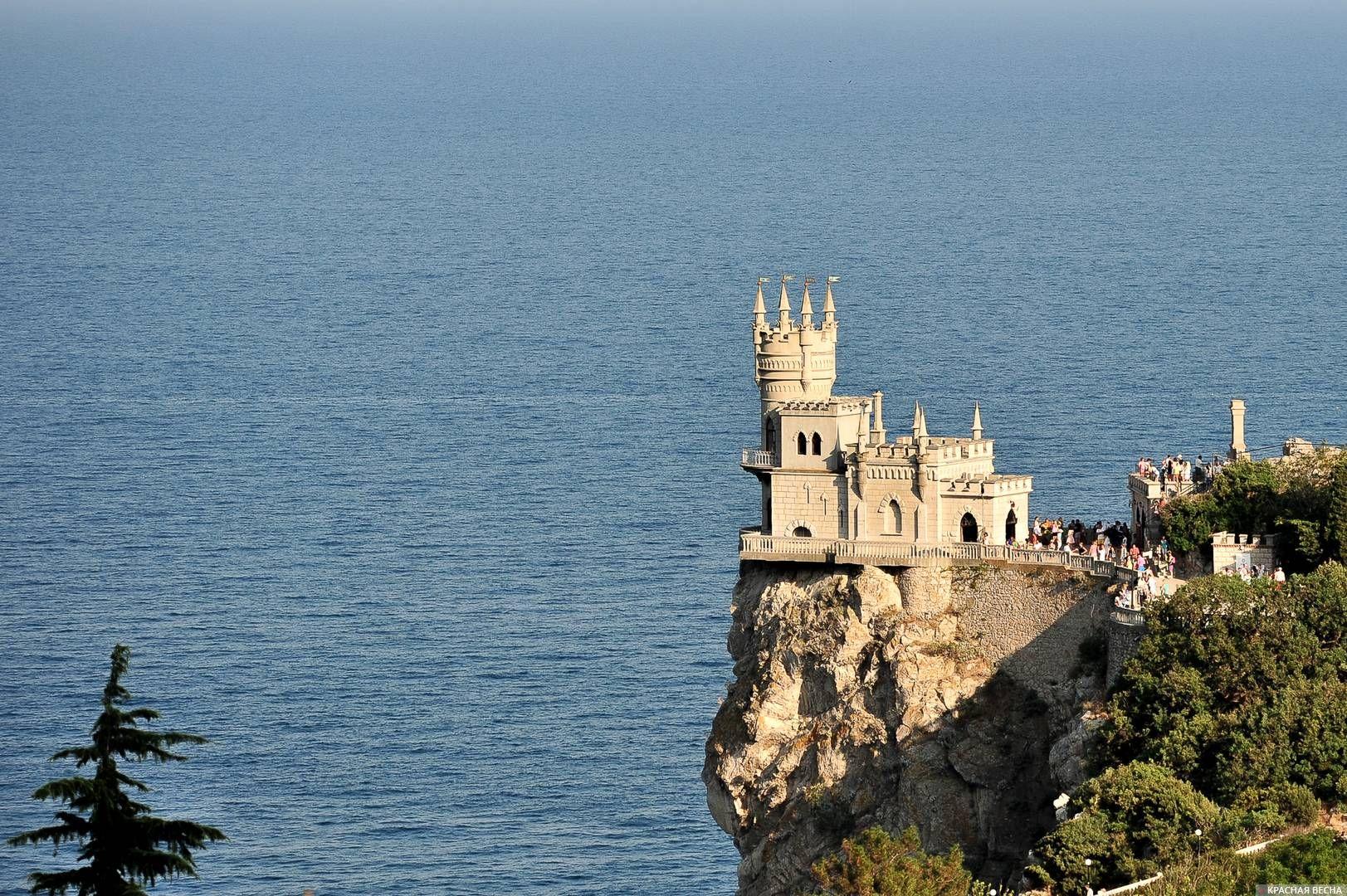 Замок Ласточкино гнездо. Крым