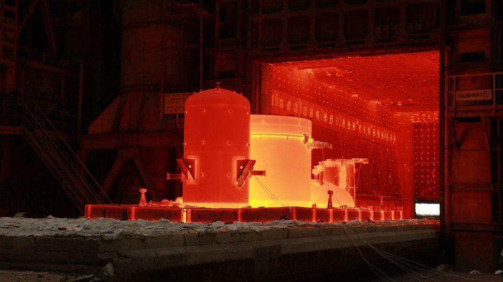 Термическая обработка баков из сплава HASTELLOY