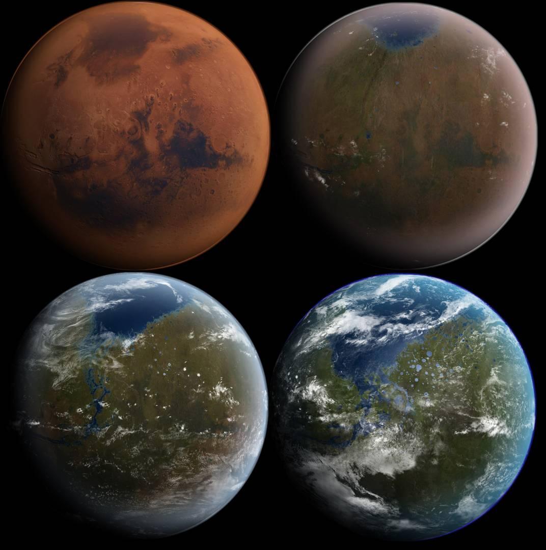 Терратрансофрмация Марса.