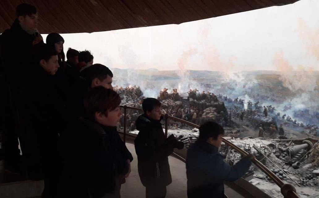 Панорама о Первой обороне Севастополя. 07.01.2019