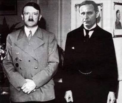Адольф Гитлер и Прескотт Буш(дедушка Джорджа Буша-младшего)