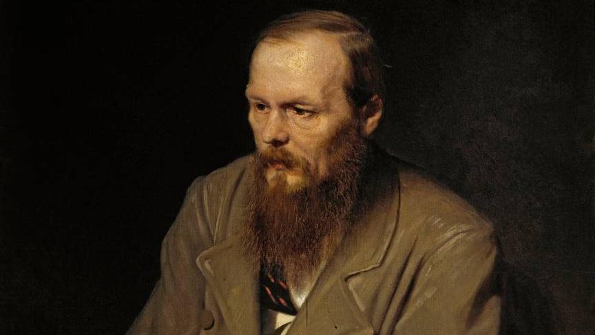 Василий Перов. Портрет писателя Фёдора Михайловича Достоевского. 1872