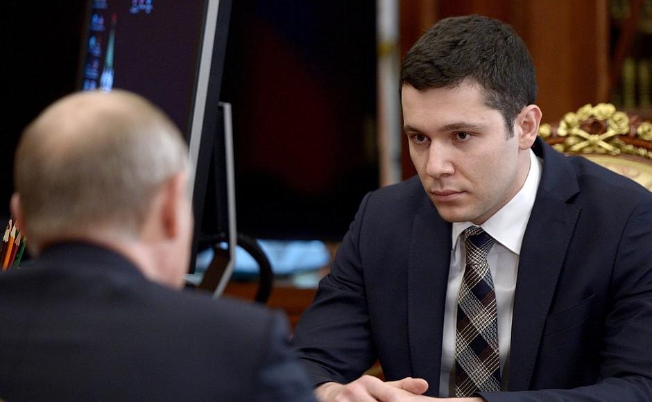 Антон Алиханов, [kremlin.ru]