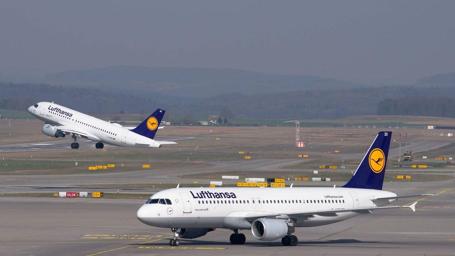 Забастовка ваэропортах ФРГ угрожает массовой отменой рейсов