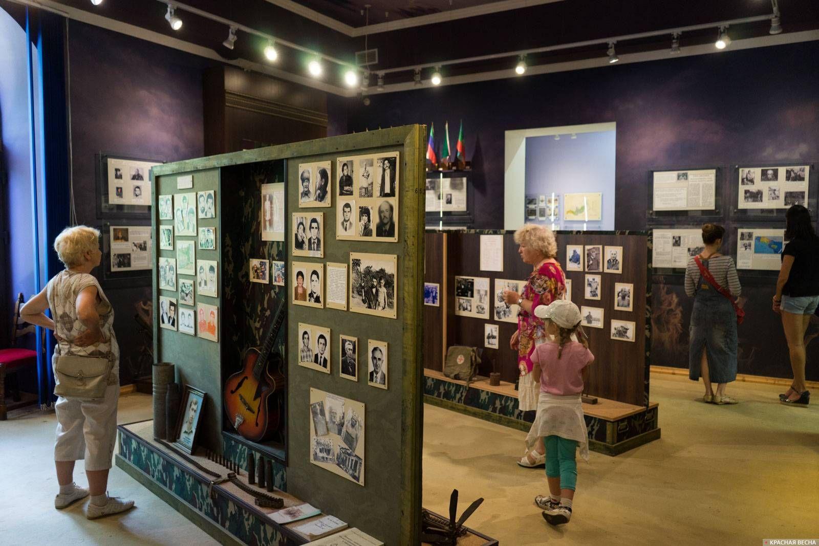 Экспозиция Отечественной войны 92–93 гг., Абхазский государственный музей, г. Сухум