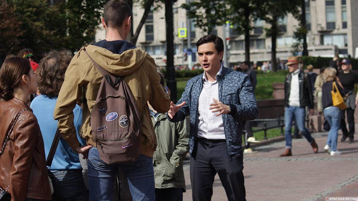 Замечен экономист Владислав Жуковский
