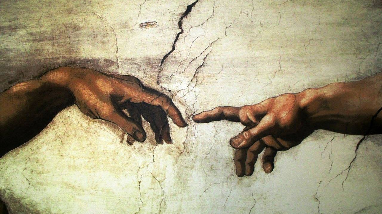 Микеланджело Буонарроти. Сотворение Адама. Около 1511