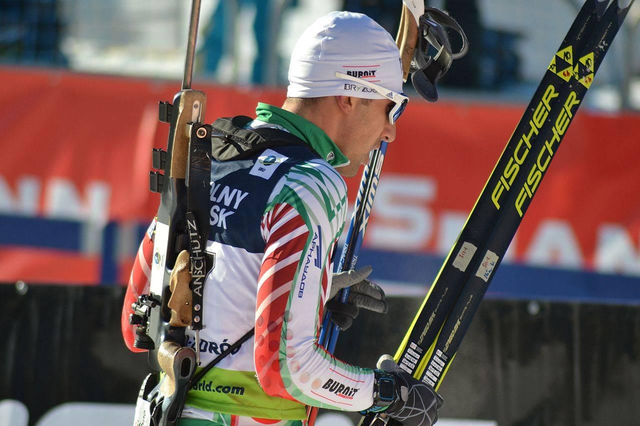 Владимир Илиев после гонки