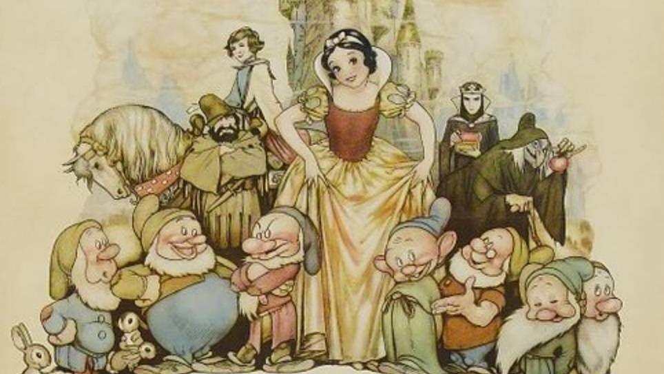 Постер к мультфильму «Белоснежка и семь гномов» (1937)